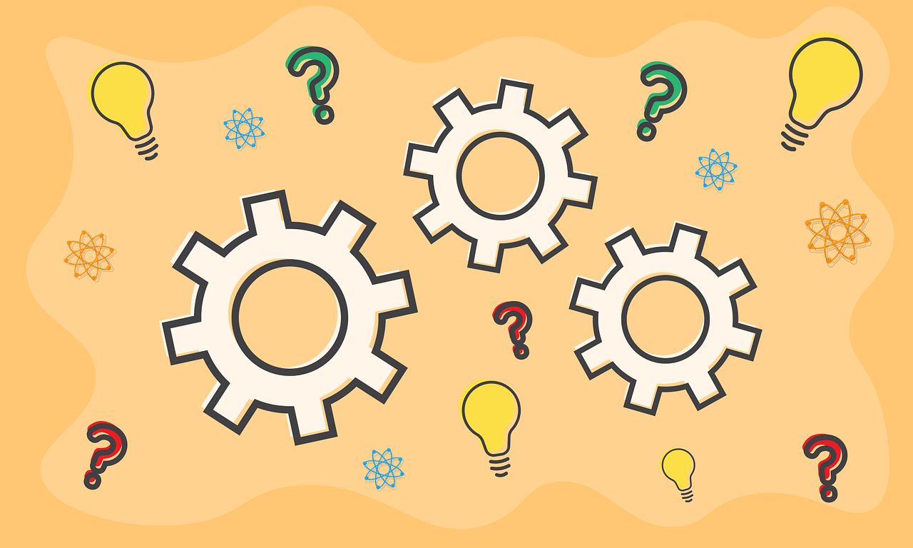 Gears Question Mark Science  - Shafin_Protic / Pixabay