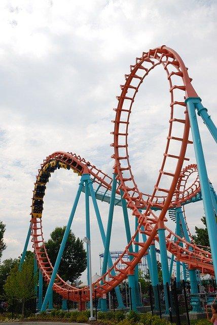 Roller Coaster Ride Fun Amusement  - paulbr75 / Pixabay